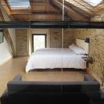 suite con baño acristalado