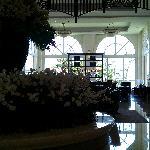 nice lobby area