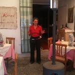 Lucianna in front of I Grilli