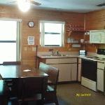 Cabin Kitchen/Dining room