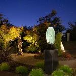 Private Buddha garden
