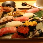 """Omakase o kudasai"" is all you need to know in Japanese."