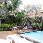 Karanga Apartments courtyard