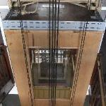 The post-war elevator - cool!
