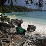 Me on Lelepa Island, Efate