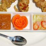 Satai Gai - typical lunch 150 baht