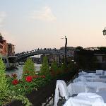 La terrazza su Canal Grande per aperitivi o colazioni