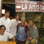 The best Restaurant Soda La Amistad