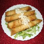 Sigara boregi ((feuilles de briques et fromage fêta)