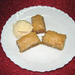 Baklava (feuilletés aux pistaches)
