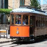 The Tram from Soller to the Port