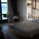 Habitación (un poco deshecha) del hotel Stella Maris.
