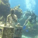 Diving at the Underwater Museum