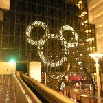 Giant Mickey Christmas wreath