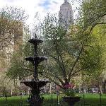 Fountain & Empire State