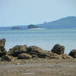 View from crock beach/ Coiba