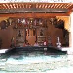 un des deux bars piscine
