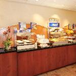 Holiday Inn Express Breakfast served daily!