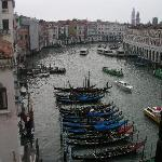 View from the room to the grand canal