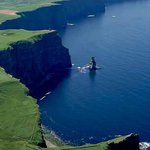 Aerial View Cliffs of Moher