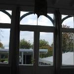 Sight from the veranda in bedroom 9