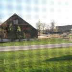 Bedroom view of equestrian centre