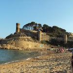 castle on the beach