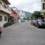 the town during ciesta - a real ciesta!