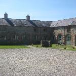 Belle Isle courtyard