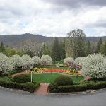 View From Greenbrier Resort Rear Entrance