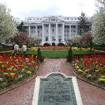 Greenbrier Resort Rear Entrance