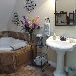 Bathroom (also spacious!)