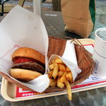 MOS Buger, Fries and Coke