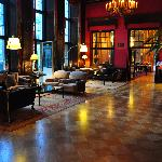 gorgeous lobby that you can really spend time in