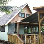 3 Bedroom Riverside Villa. This was ours. We had 5 people in here.