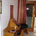 Zimmer und Balkon