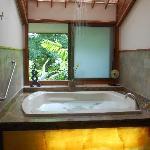 Bath tub and shower - Honeymoon suite