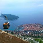 Pearl of Adriantic: Dubrovnik from Srdj