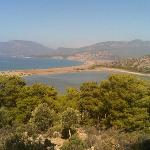 view of Iztuzu beach!