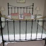 Our clean, crisp bed