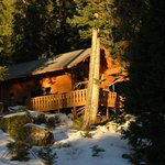 Mountain lodging in Sequoia National Park