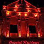 Oriental Residence at Night