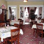 Dining room where breakfast is served