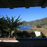 From the patio looking towards Catalina Harbor