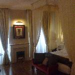 la junior suite in cui abbiamo soggiornato è bellissima
