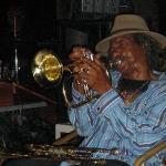 Der Trompeter Frank Aird