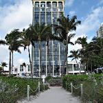Vue de l'hotel depuis l'ocean
