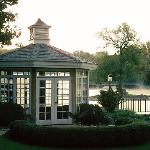 Waterfront Gazebo for private dining or small meetings