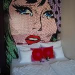 Room 404 - Bed