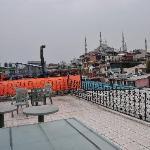 Hotel Gul Sultan Dachterrasse